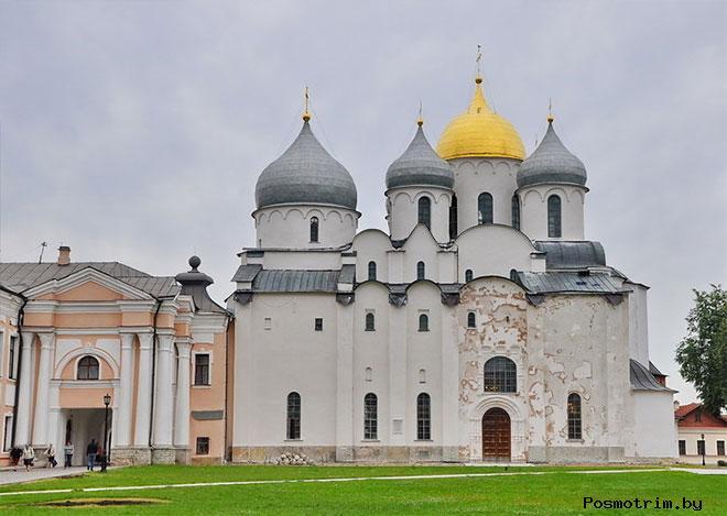 Софийский собор в Новгороде Строительство и освящение