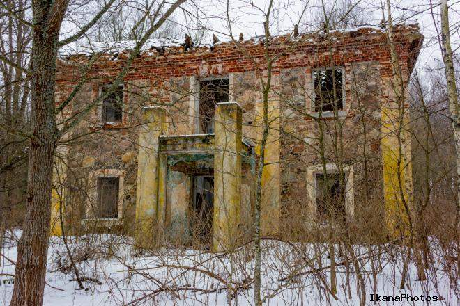 Усадьба Хрептовичей «Одровонж» - декорации к фильму ужасов