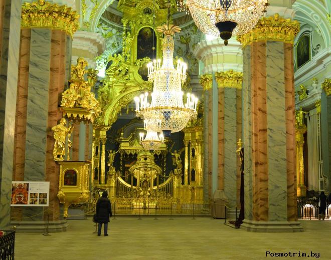 Интерьеры Петропавловского собора