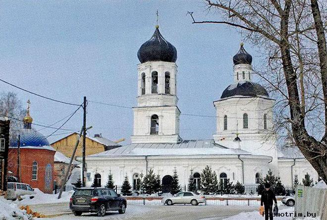 Знаменская церковь Томск