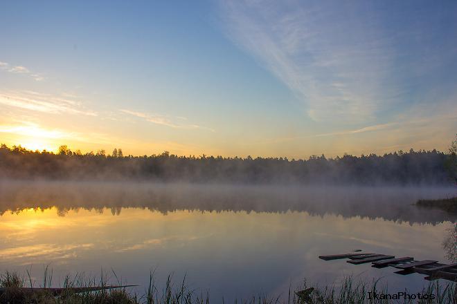Легенды бездонного озера в Беларуси под Держинском