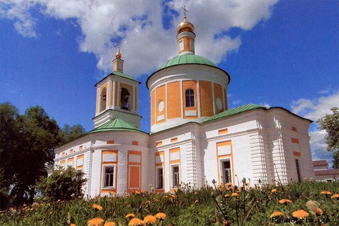 Храм Иоанна Предтечи в усадьбе «Садки»