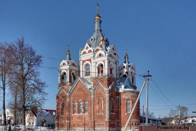 История храма Казанской Божией Матери в Глебово