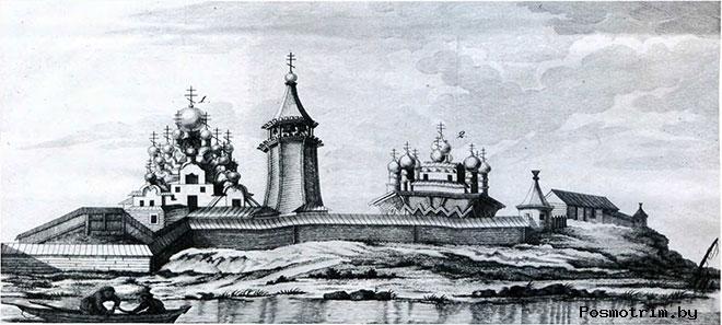 Кижский погост история