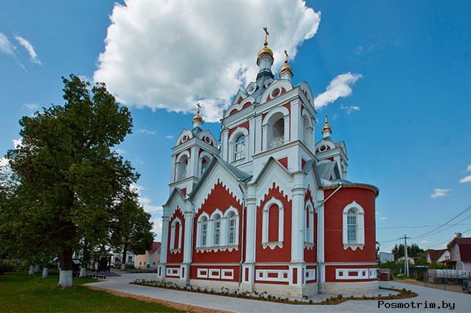 Глебово Храм Казанской Божией Матери