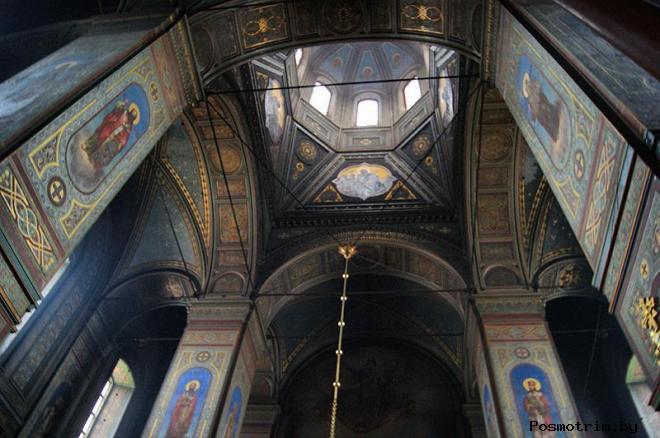 Интерьер Вознесенского собораЕльца