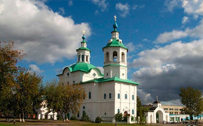Основание Богоявленского собора в Ишиме