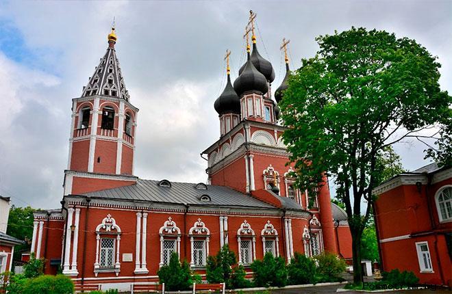 Церковь на Донской в советское время и сегодня
