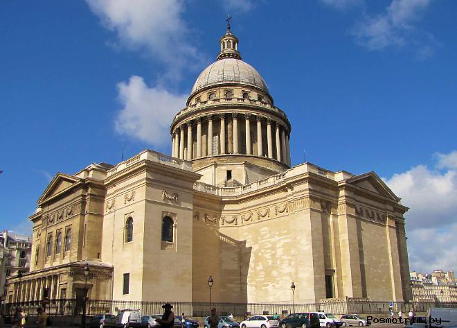 Архитектура Парижского Пантеона
