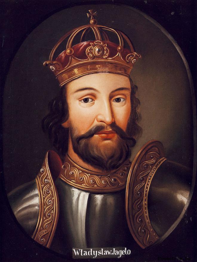 Ягайло великий князь литовский - родоначальник рода Ягеллонов