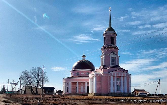 Автономовский храм Кашары Задонск