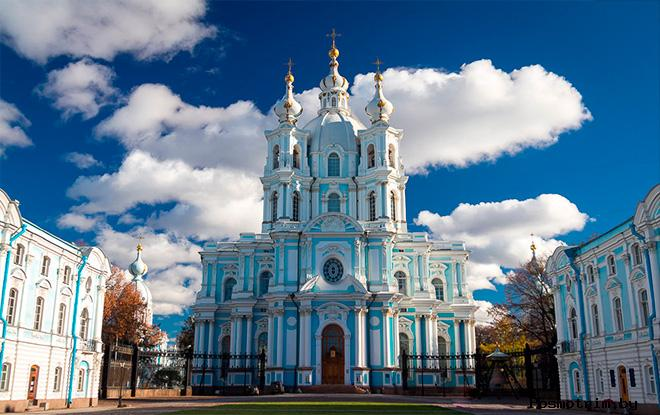 Петербург Смольный собор