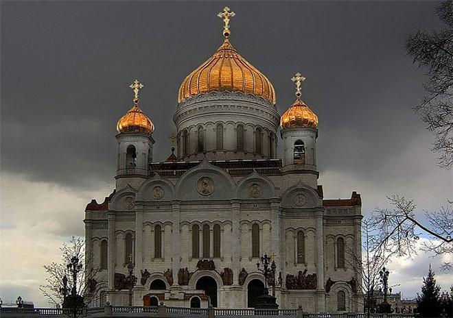 Первый проект храма Христа Спасителя на Вробьёвых горах