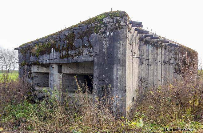 ДОТ линии Сталина - Полоневичский ОП Минского укрепрайона