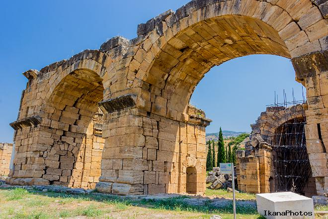 Хиераполис Турция сокрушительный удар Фракийского землетрясения