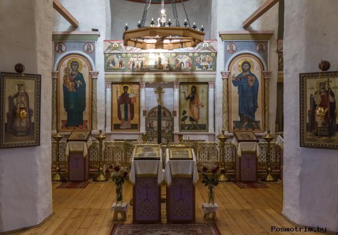 Интерьер Собора Иоанна Предтечи Пскова