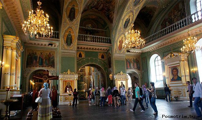Интерьер Благовещенского собора Казани