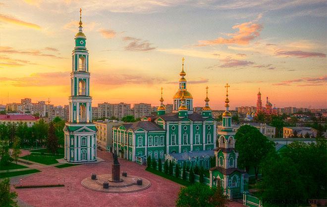 Спасо-Преображенский собор Тамбов