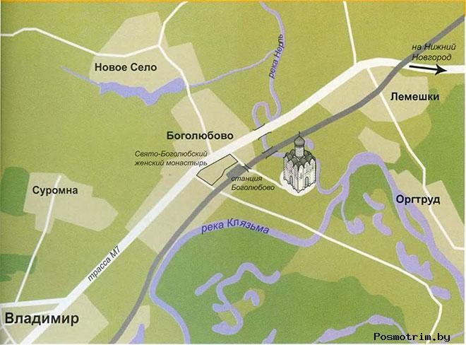 Храм Покрова на Нерли богослужения график работы как добраться расположение на карте адрес
