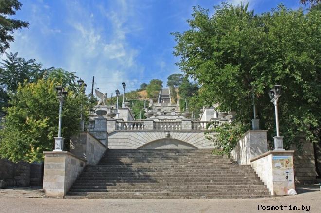 Большая Митридатская лестница Керчь