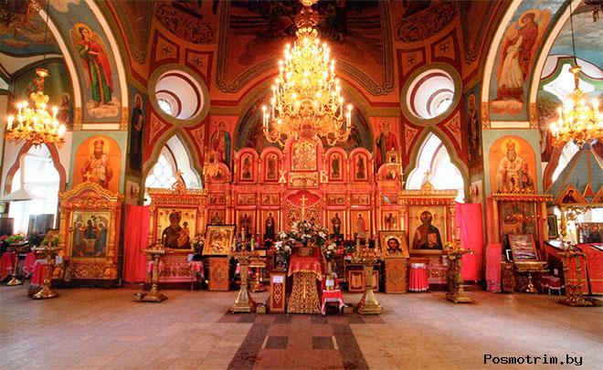 Внутри Смоленского храма Ивантеевки