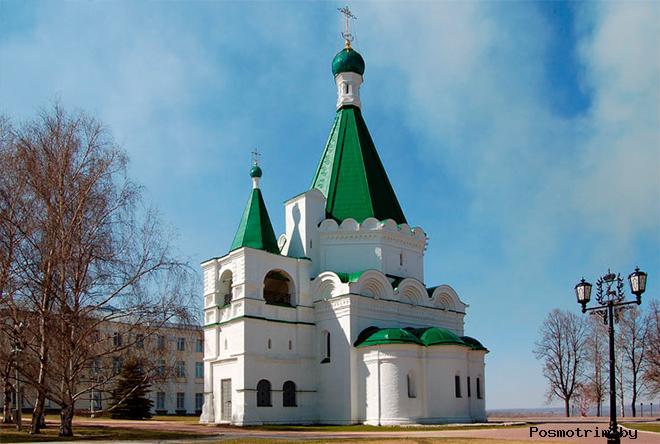 Архитектура собора Архангела Михаила в Нижнем Новгороде