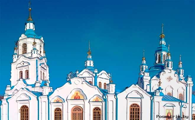 Архитектура Знаменского собора Тюмени