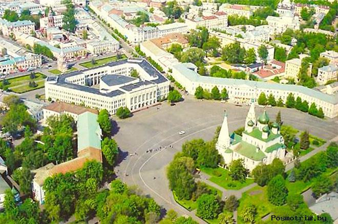 Советская площадь Ярославль