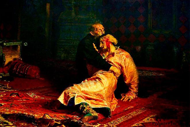 Почему Иван Грозный убил сына