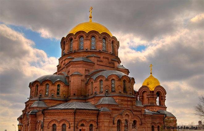 Александро-Невский собор Новосибирска архитектура
