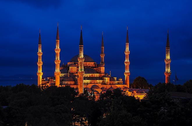 Голубая мечеть в Стамбуле - история возведения храма