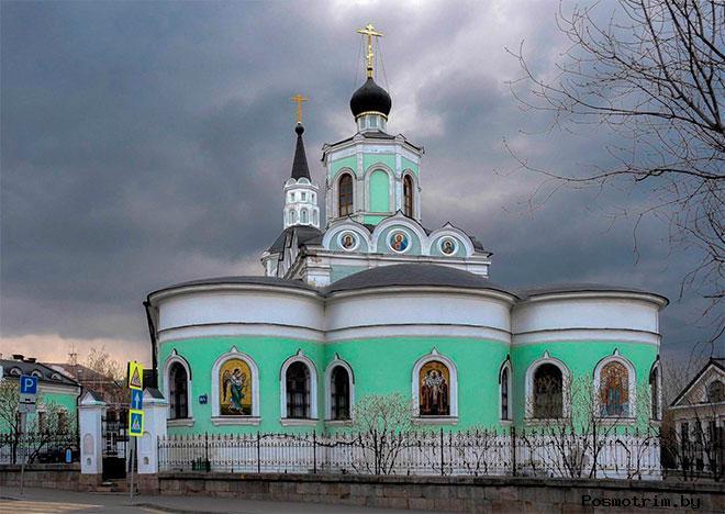 Архитектура Крестовоздвиженского храма на вражке в Москве