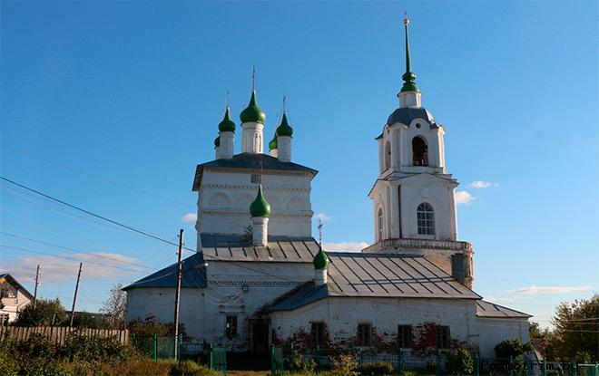 История Богоявленской (Георгиевской) церкви Касимова