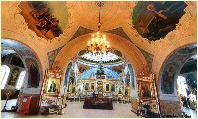 Никольский собор Оренбурга внутри
