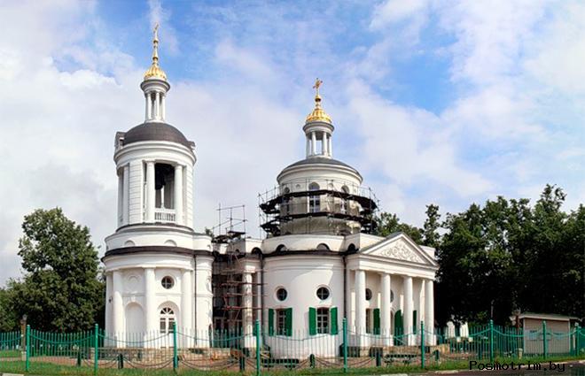 Строительство Храма в Кузьминках