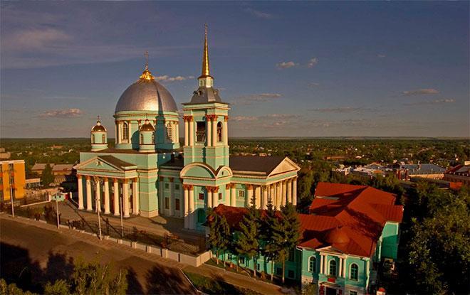 Архитектура Знаменского собора в Курске