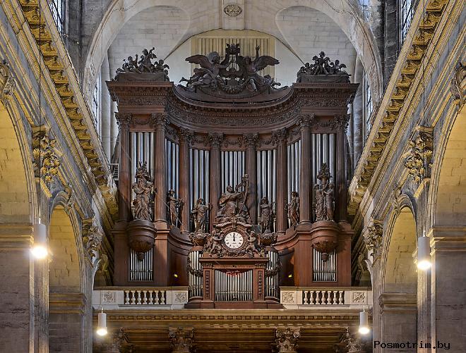 Большой орган церкви Сен-Сюльпис