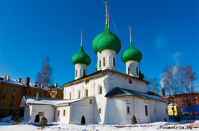 Николо-Мельницкая церковь Ярославль