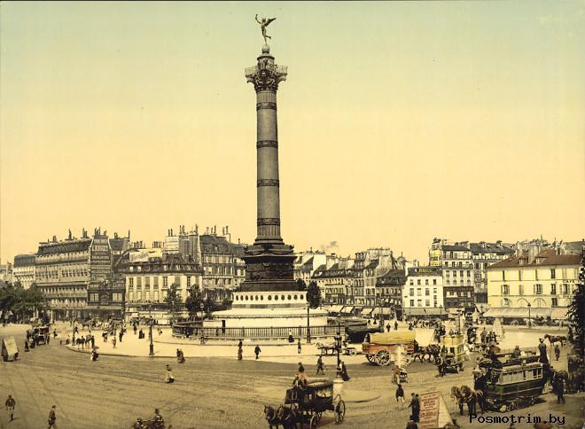 История площади Бастилии
