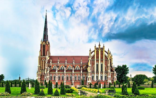 Троицкий костёл в Гервятах история строительства