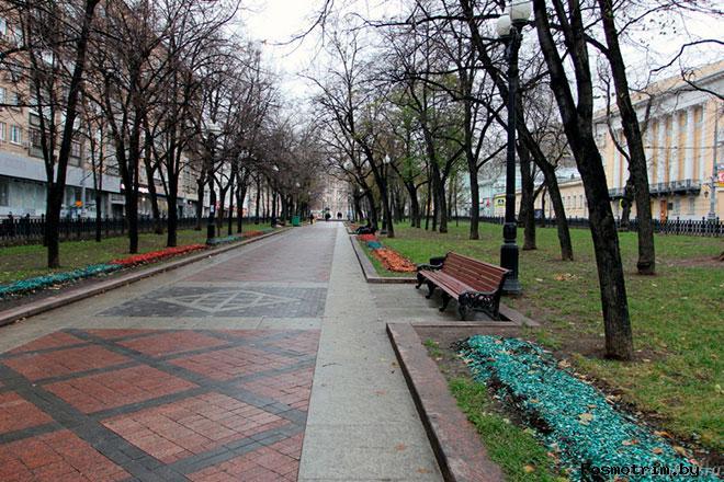 Никитский бульвар Москва