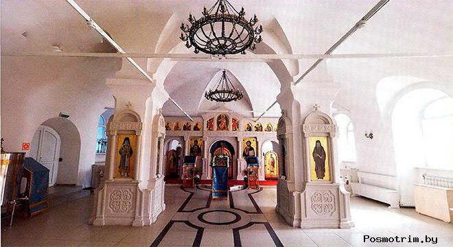 Внутри Троицкого храма в Архангельске