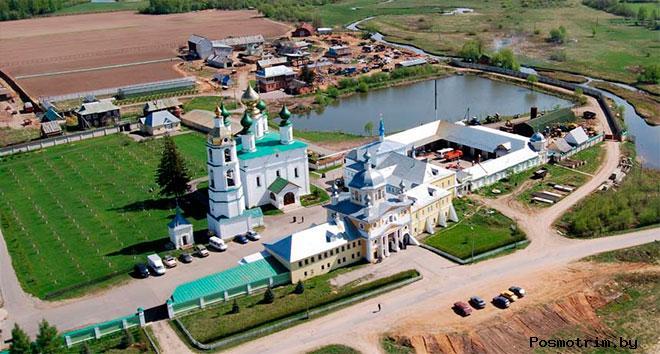 Архитектурный ансамбль Николо-Шартомского монастыря