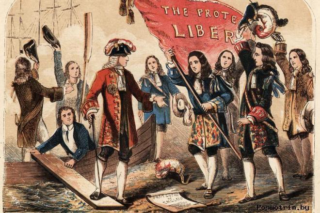 Славная революция в Англии 1688 кратко