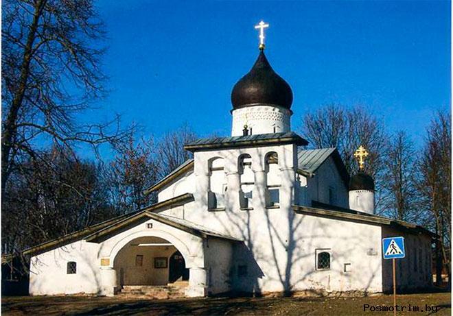 Церковь Воскресения со Стадища Псков