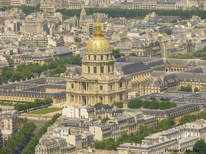 Дом Инвалидов Расположение на карте Парижа как добраться самостоятельно