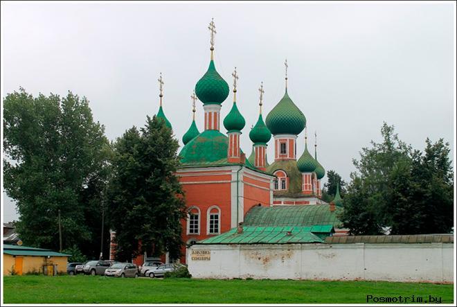Богородице-Сретенский Новодевичий монастырь Переславль-Залесский