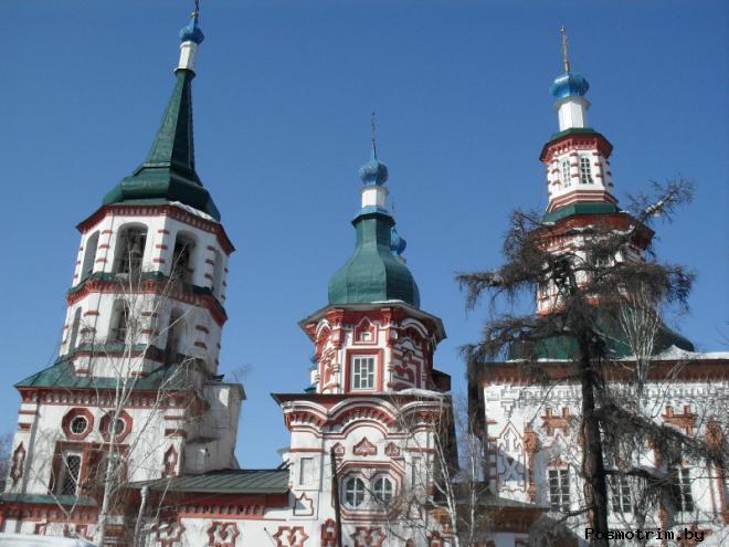 Архитектура Крестовоздвиженской церкви Иркутска