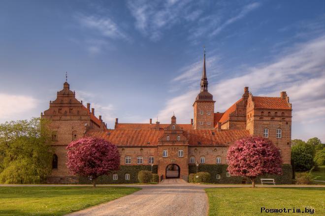Замок Нюрборг Дания