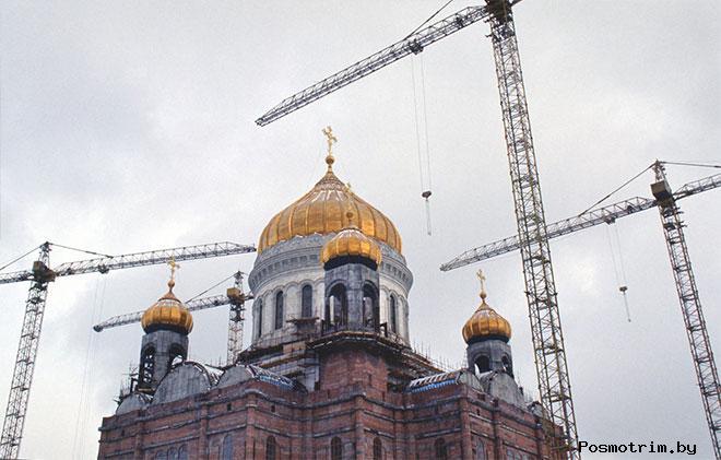 Восстановление храма Христа Спасителя в Москве